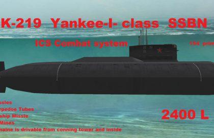 הרצאות זום – טביעת הצוללת הגרעינית הרוסית K-219